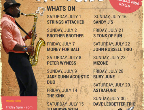 Mid Winter July Gig Guide At The Bay Harbour Market