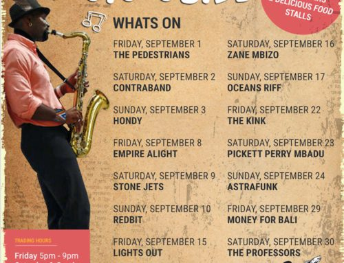 The September Gig Guide At The Bay Harbour Market